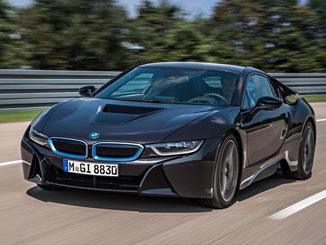 BMW i8 Bildergalerie