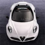 Alfa-Romeo 4C Spider Handylogo