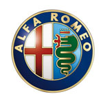Alfa Romeo Handylogo schwarz für Iphone