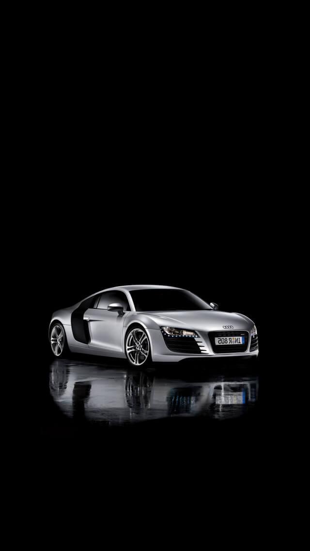 Audi Handylogo Zum Kostenlosem Download F 252 R Iphone