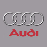 Audi grau Iphone Logo