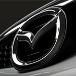 Mazda Handylogo schwarz für Iphone