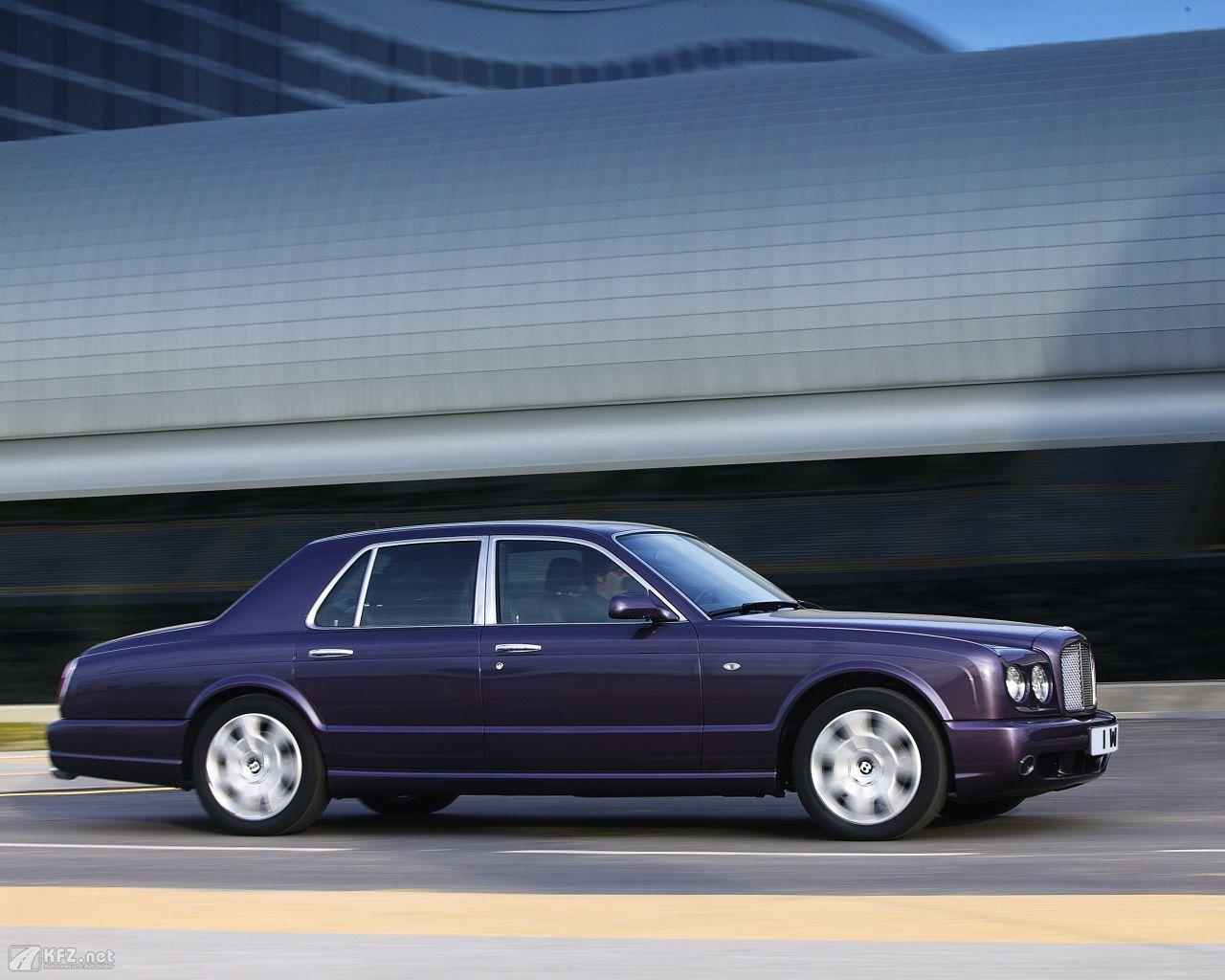 Bentley Arnage Bilder 507 Ps In Der Luxusklasse