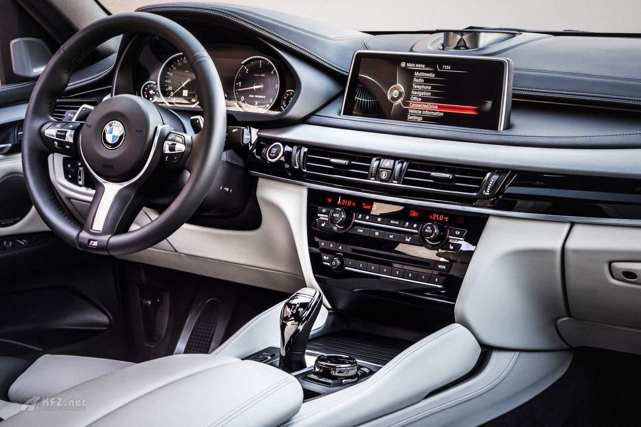 BMW X6 Cockpit