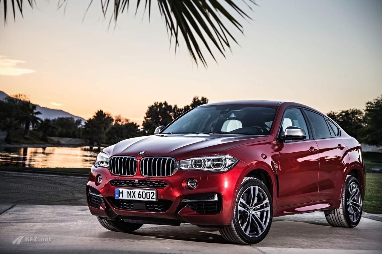 BMW X6 rot