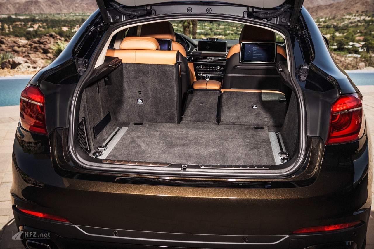 BMW X6 Kofferraum