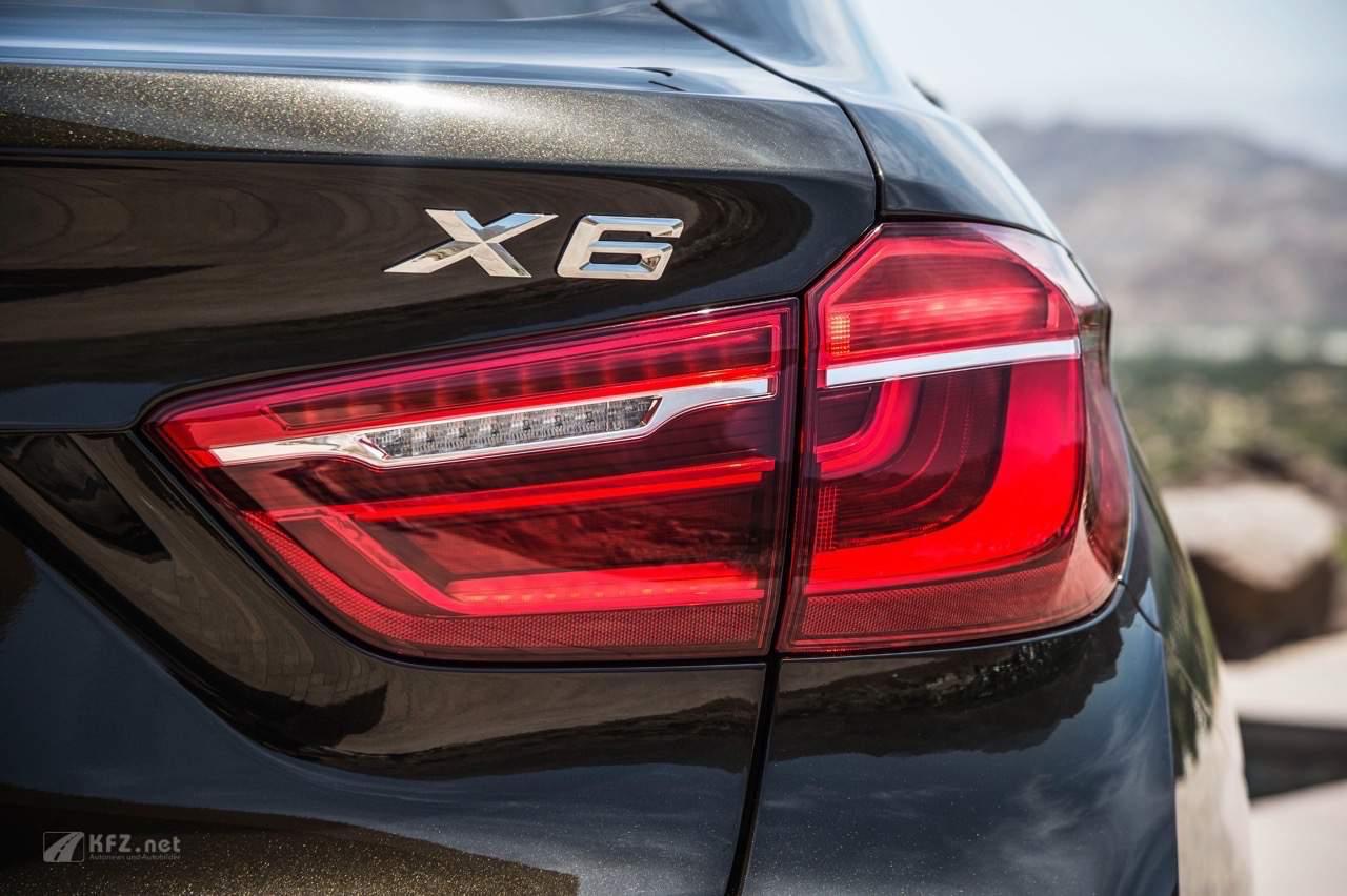 BMW X6 Rückleuchte