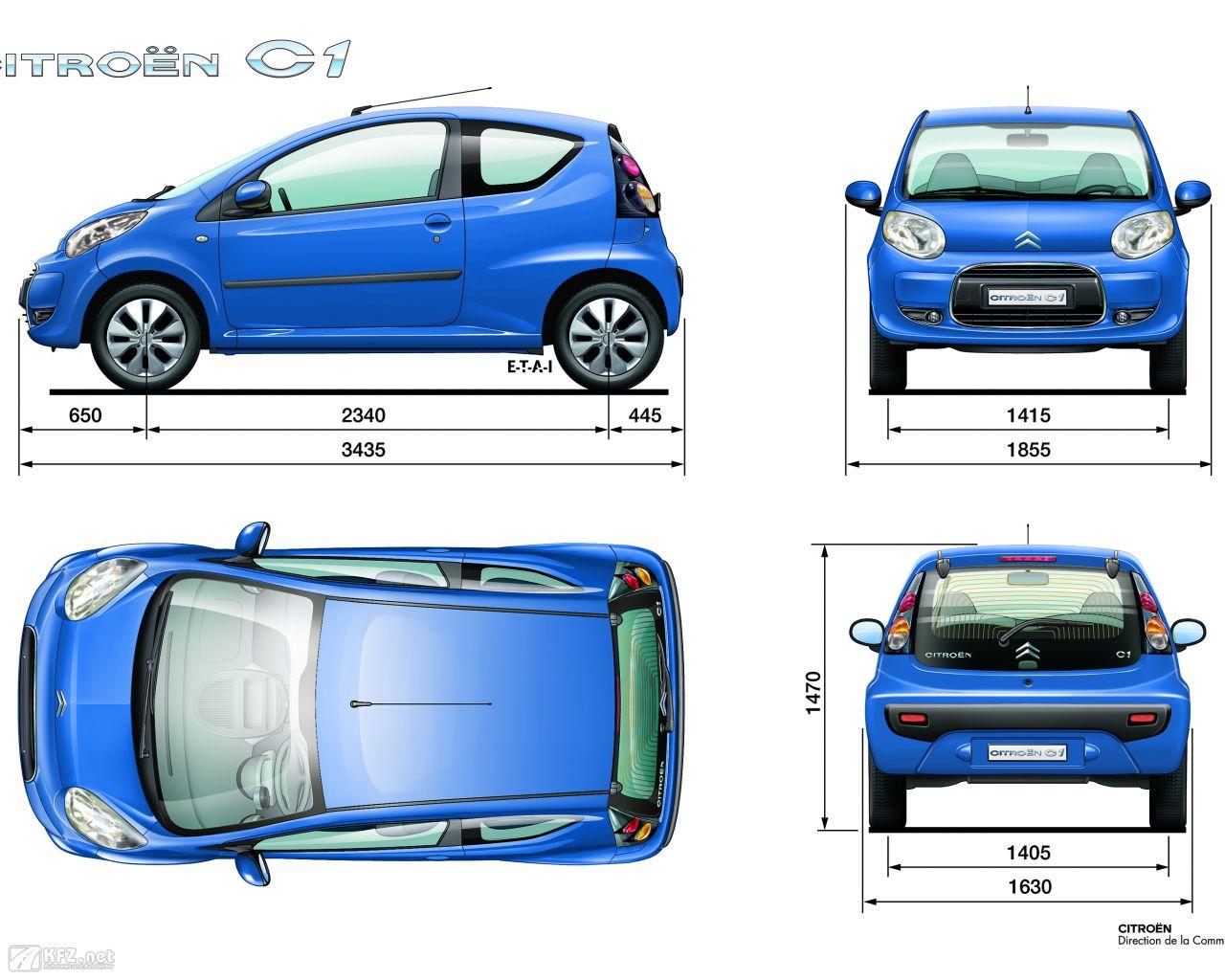 Citroën C1 Bilder. Der Kleinwagen mit 3 und 5 Türen.