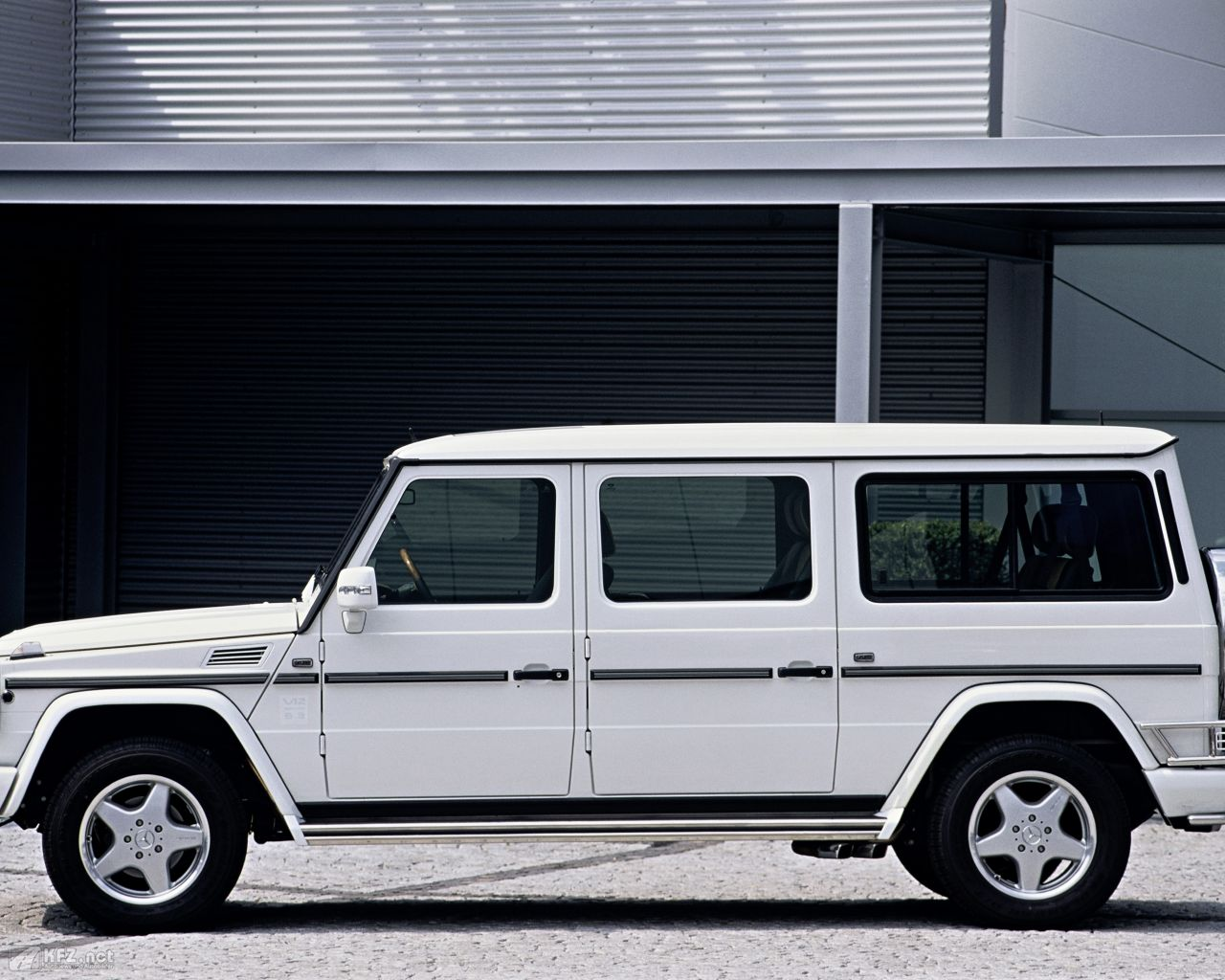 Mercedes G Wagon Extra Long Version