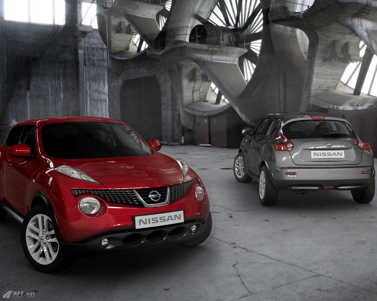 Nissan juke bilder halb suv und halb sportwagen for Bilder nissan juke