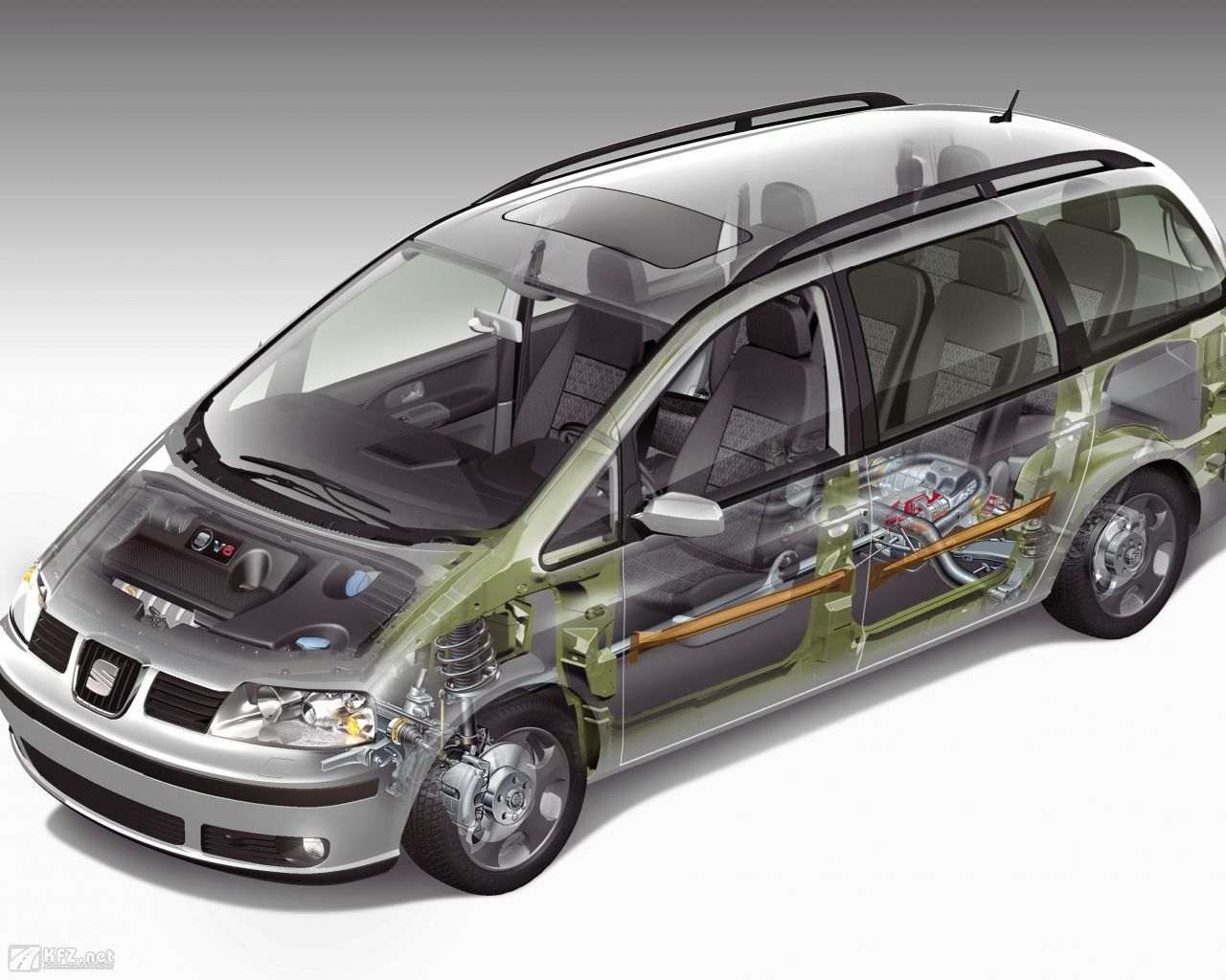 seat alhambra bilder die spanische gro raum limousine. Black Bedroom Furniture Sets. Home Design Ideas
