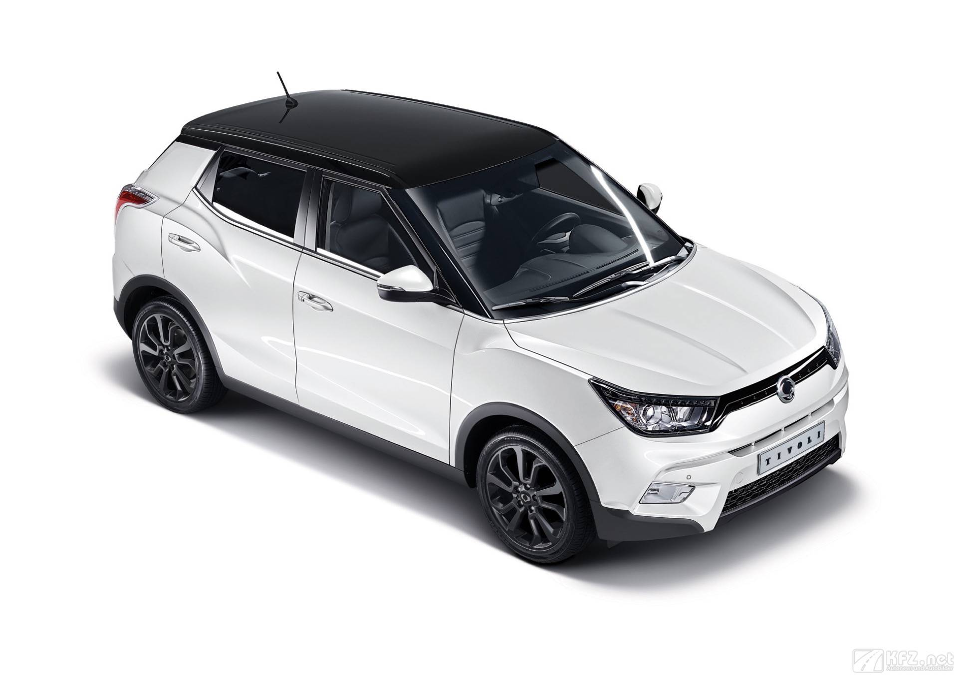 ssangyong tivoli bilder suv limousine ab euro. Black Bedroom Furniture Sets. Home Design Ideas
