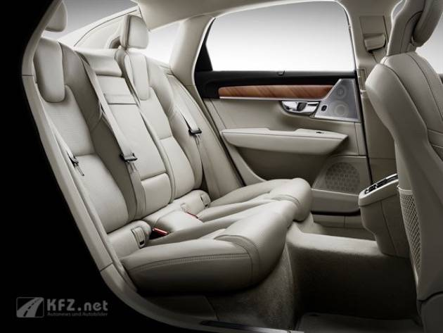 Interior Rear Seats Volvo S90