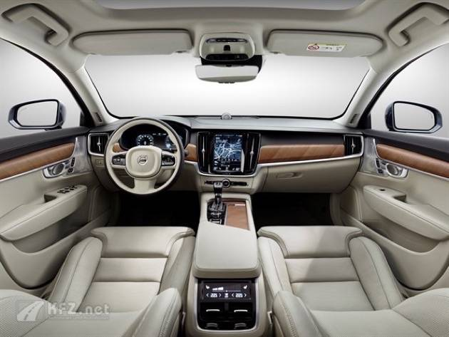 Interior Blond Volvo S90