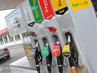 Foto: Zapfsäule von Shell