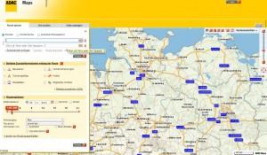 ADAC Routenplaner Screenshot