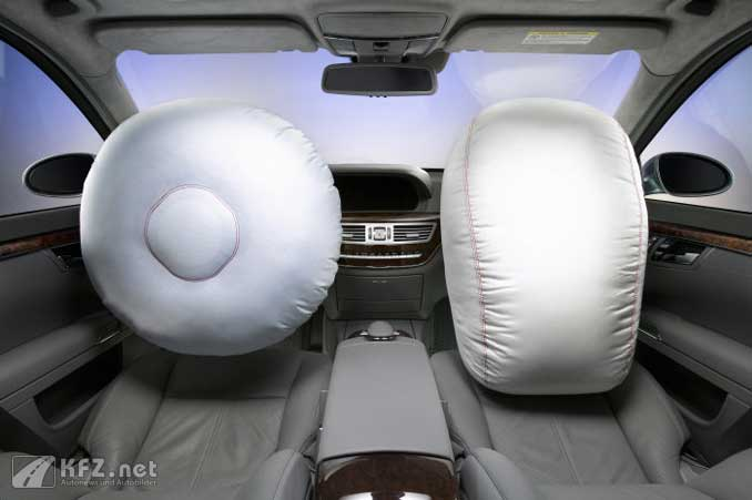 Mercedes Beifahrer-Airbag