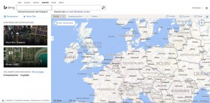 Bing Routenplaner Screenshot