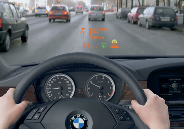 BMW Headup Display
