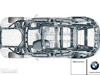 Grafik: Sicherheitskarosserie von BMW
