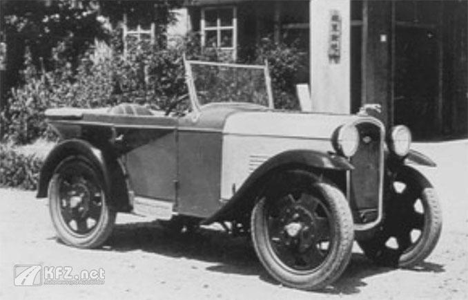 Foto: Datsun Auto von 1914