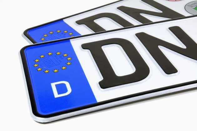 Deutsche Autokennzeichen Als Liste Städte Zu Den Kfz Kennzeichen