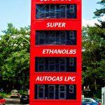 Foto: e85 Kraftstoff an der Tankstelle