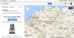 Google Routenplaner Screenshot