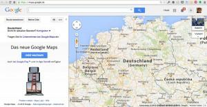 Bild vom Google-Routenplaner