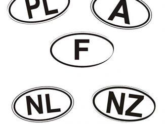 Internationale Kfz-Kennzeichen