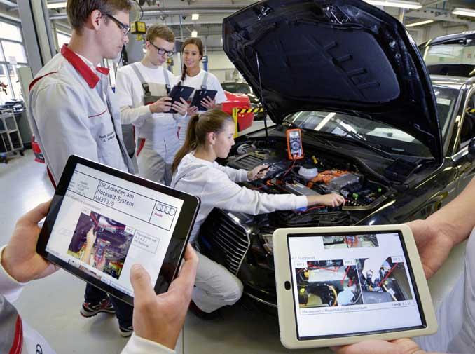Mechatronische Systeme bei Audi