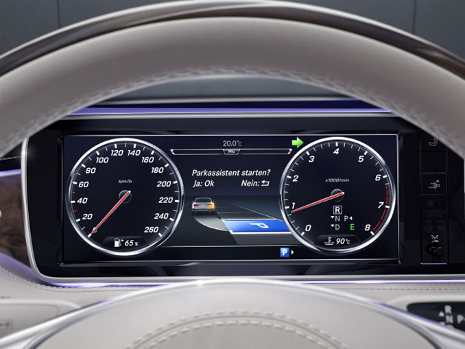 Mercedes Parktronic System