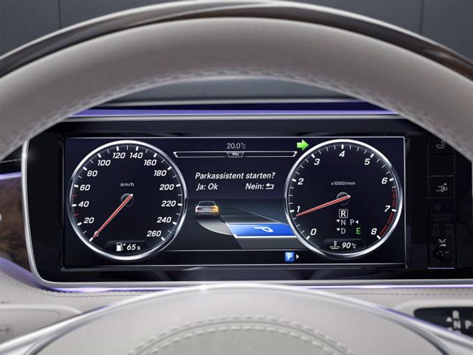 Mercedes Parktronic System