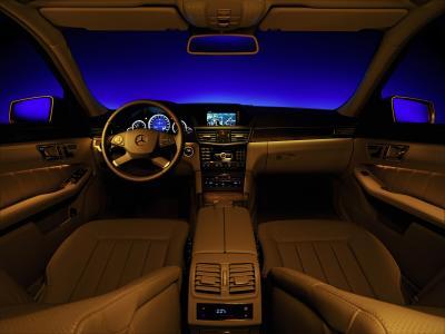 Mercedes Welcome light