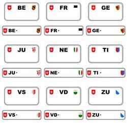 Schweizer Autokennzeichen