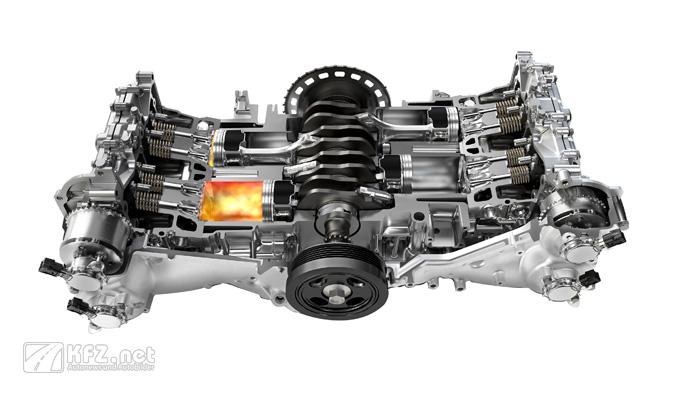 Foto Subaru Boxermotor