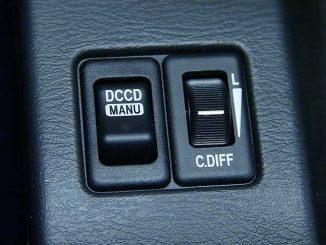 Subaru DCCD Knopf