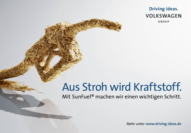 SunFuel Anzeige von VW