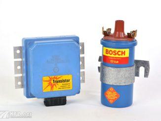 Foto Bosch Transistorzündung von 1974