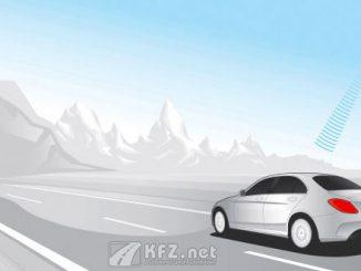 Grafik Mercedes mit Tunnelschaltung