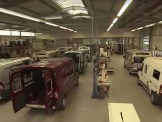 Wohnmobilproduktion