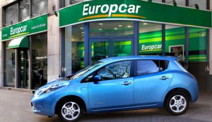 Nissan Leaf zu mieten bei Europcar