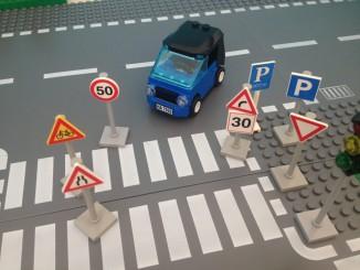 Schilderwald im deutsche Strassenverkehr
