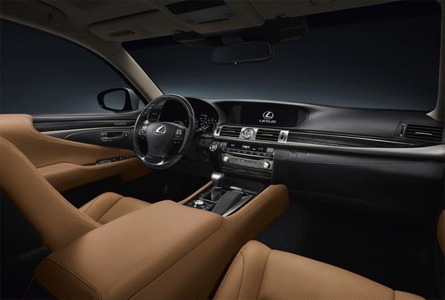 Lexus LS Innenraumbeleuchtung