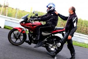 Motorrad Training