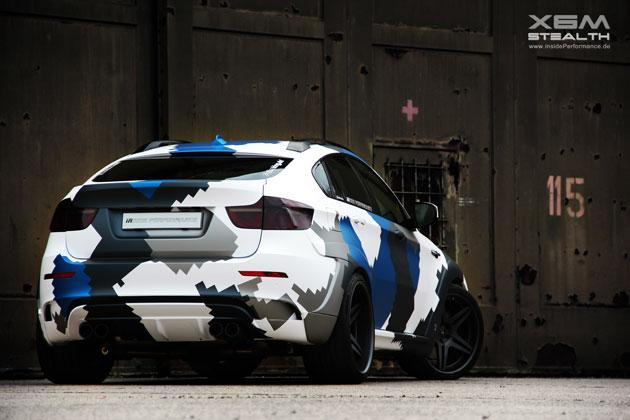 BMW X6M rear