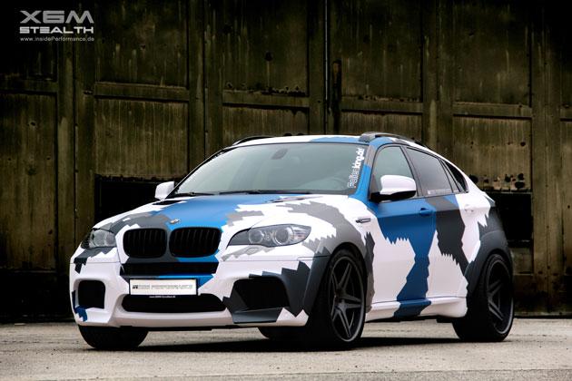 BMW X6m Frontansicht