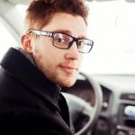 Foto: Mann im Auto