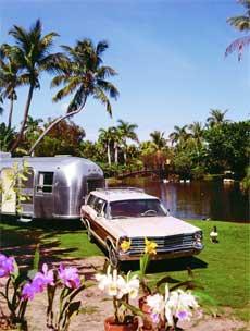 Urlaub mit dem Airstream Wohnmobil