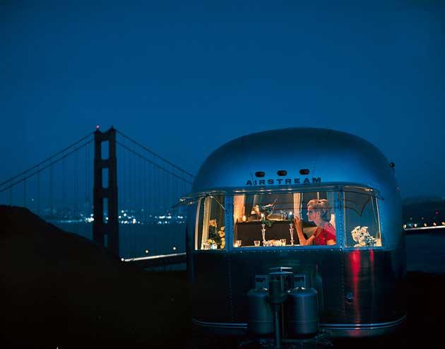 Airstream Wohnwagen verbreiten sich in ganz Amerika